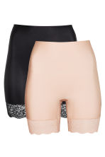 2-pack light shaping shorts - Chai - Ladies | H&M CN 2