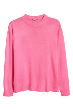 H&M+ Fine-knit jumper - Pink - Ladies | H&M CN 2