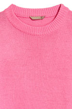 H&M+ Fine-knit jumper - Pink - Ladies | H&M CN 3