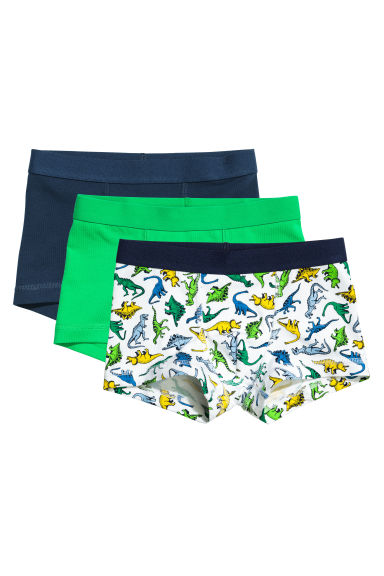 3-pack boxer shorts - Green - Kids | H&M CN 1