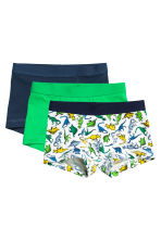 3-pack boxer shorts - Green - Kids | H&M 1