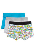 3-pack boxer shorts - Turquoise blue - Kids | H&M CN 1