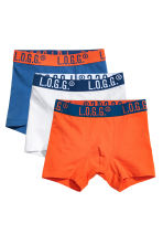 3-pack boxer shorts - Orange - Kids | H&M 1