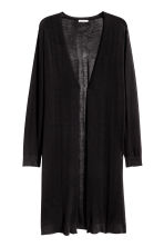 H&M+ Fine-knit cardigan - Black - Ladies | H&M 2