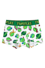 2-pack boxer shorts - Green/Turtles - Kids | H&M CN 2