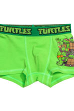 2-pack boxer shorts - Green/Turtles - Kids | H&M CN 3