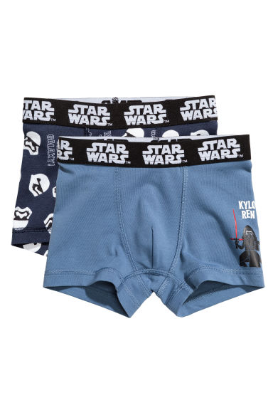 2-pack boxer shorts - Dark blue/Star Wars - Kids | H&M IE