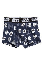 2-pack boxer shorts - Dark blue/Star Wars - Kids | H&M 2