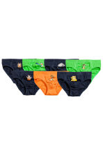 7-pack boys' briefs - Dark blue/The Lion King - Kids | H&M 1