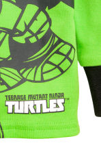 Pyjamas - Green/Turtles - Kids | H&M 4