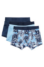 3-pack boxer shorts - Light blue - Kids | H&M CN 1