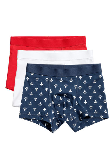3-pack boxer shorts - Light red - Kids | H&M 1