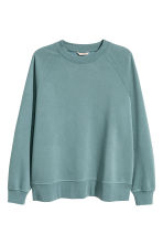 H&M+ Sweatshirt - Dark turquoise - Ladies | H&M CN 2