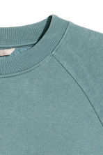 H&M+ Sweatshirt - Dark turquoise - Ladies | H&M CN 3