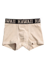 3-pack boxer shorts - Light beige - Kids | H&M CN 2