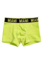 3-pack boxer shorts - Black/Miami - Kids | H&M CN 2