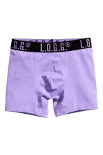 3-pack boxer shorts - Purple - Kids | H&M 2