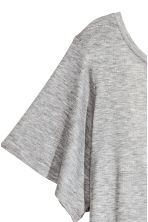Top with a low back - Grey marl - Ladies | H&M CN 4