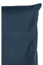 Cotton canvas cushion cover - Dark blue - Home All | H&M CN 2