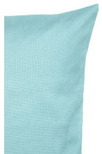 Cotton canvas cushion cover - Turquoise - Home All | H&M CN 2