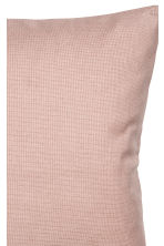 Cotton canvas cushion cover - 暗粉红 - Home All | H&M CN 2