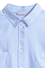 H&M+ Cotton shirt - Light blue - Ladies | H&M 2