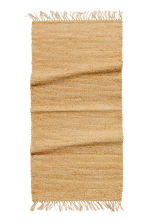 Tapis en jute avec franges - Naturel - Home All | H&M FR 2