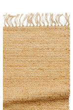 Tapis en jute avec franges - Naturel - Home All | H&M FR 3