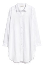 Long shirt - White - Ladies | H&M CN 2