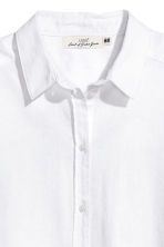 Long shirt - White - Ladies | H&M CN 3