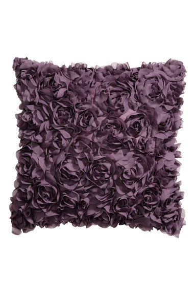 Cushion cover with flowers - Purple - Home All | H&M CN