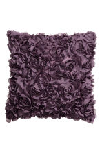 Cushion cover with flowers - Purple - Home All | H&M CN 1