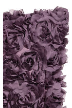 Cushion cover with flowers - Purple - Home All | H&M CN 2