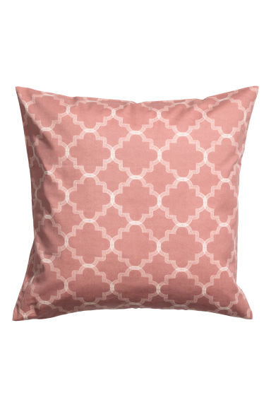 Copricuscino con stampa - Rosa nebbia - HOME | H&M IT 1
