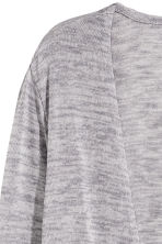 Fine-knit cardigan - Grey - Ladies | H&M CN 3