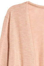 Fine-knit cardigan - Beige - Ladies | H&M CN 3