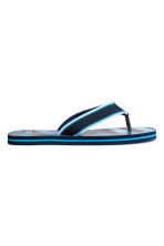 Flip-flops - Dark blue/Striped - Kids | H&M 2