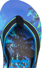 Flip-flops - Cornflower blue/Palms -  | H&M 3