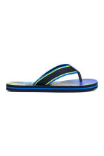 Flip-flops - Cornflower blue/Palms -  | H&M 2