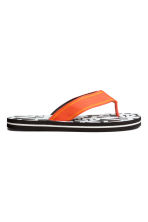 Flip-flops - Black/White - Kids | H&M 2