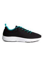 Mesh trainers - Black - Kids | H&M 1