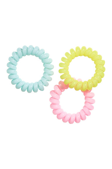 3-pack hair elastics - Yellow - Kids | H&M CN