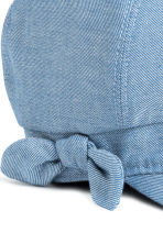 Cap with a bow - Light blue - Kids | H&M CN 2