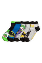 5-pack trainer socks - Grey/Batman -  | H&M CN 1