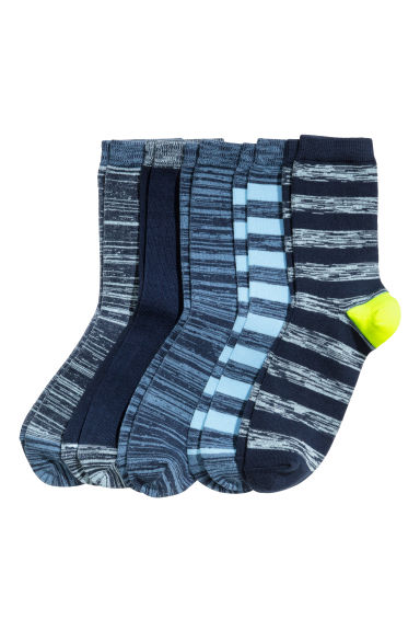 5-pack socks - Blue/Light blue - Kids | H&M CN 1