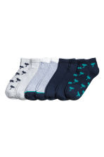 7-pack trainer socks - Dark blue/Palms - Kids | H&M 1