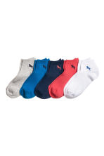 5-pack trainer socks - Cornflower blue -  | H&M 1