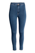 Trousers High waist - Denim blue - Ladies | H&M GB 1