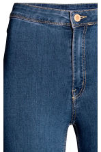Trousers High waist - Denim blue - Ladies | H&M CN 2
