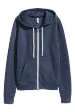 Hooded jacket - Dark blue - Ladies | H&M 2